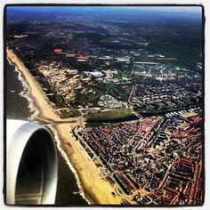 The Netherlands! #travel #airplanewindow