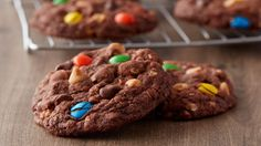 Monster cookies meet brownies in this mash-up of the classics. Perfect for after school or anytime you need a chocolaty, crunchy treat.