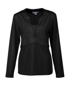 Women's Long Sleeve Knit Pullover (88% Polyester 12% Spandex) Tri mountain LB397 #Womenswear #Women #LongSleeve #KnitShirt #pullover