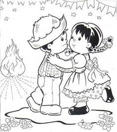 desenhos festa junina paineis cartazes escola (5)