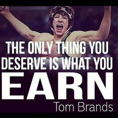 94040b79d1 Go earn it #YourTime via wrestlersgrind Wrestling Bags, Wrestling Quotes,  College Wrestling,