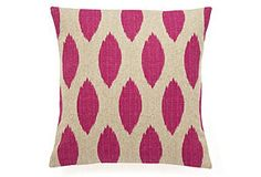 Berry Ikat Pillow