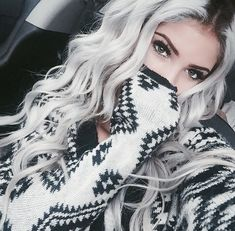 Bold Silver | 10 Awesome Silver Hair Colors Ideas | Absolutely Gorgeous And…