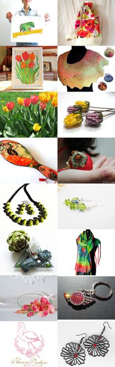 Spring Flowers by Vilma Matuleviciene on Etsy--Pinned+with+TreasuryPin.com