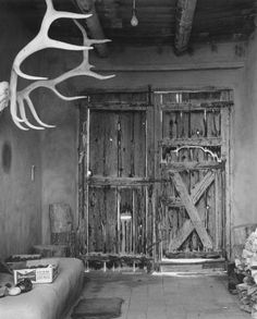 O'Keeffe's Abiquiu House, 1961  Todd Webb