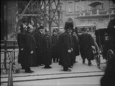 FRANZ JOSEF'S FUNERAL PART 3 Allocated Title (IWM 1040) (click to view). Recognisable among the dignitaries arriving are Archduke Joseph, Archduke Friedrich, Archduke Eugen, King Ferdinand of Bulgaria, Prince Henry of Prussia, Prince Rupprecht of Bavaria, Crown Prince Wilhelm of Prussia and finally the new Emperor Karl with Empress Zita and their son Otto.