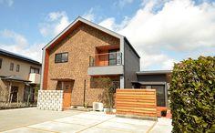 外観01 Modern Townhouse, Facade, Villa, Exterior, Cabin, House Styles, Outdoor Decor, Home Decor, Home