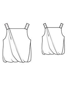 Balloon Top 04/2013 #112A – Sewing Patterns | BurdaStyle.com