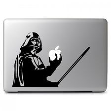 Available to buy for another 3h 6m is Star Wars Darth Vader for Apple Macbook Air Pro 13 15 Laptop Vinyl Decal Sticker for $4.99 .