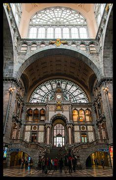 Antwerpen-Centraal Railway Station Antwerpen, Belgium Copyright: Gosia Siudzinska