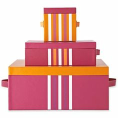 Happy Chic by Jonathan Adler Katie Set of 3 Storage Boxes - jcpenney