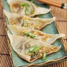 Zen Temple Dumplings - a favorite vegetarian dish in our house.