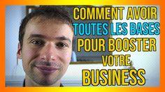 Comment avoir TOUTES les BASES pour BOOSTER votre BUSINESS : https://www.youtube.com/watch?v=BCE3HZOzJ-k&list=PLlNaq4hbeacQso7BcO89UKoc9r0qh5kCL :) #MBA #Bases #Booster #Business
