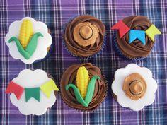 Cupcake para Festa Junina ~ Arte De Fazer   Decoração e Artesanato