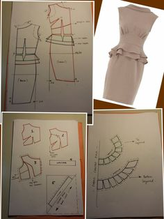 Create and Decorate: 35 Sewing Hacks, Tips, And Tricks For Your DIY Projects Pattern Draping, Bodice Pattern, Dress Sewing Patterns, Clothing Patterns, Fashion Sewing, Diy Fashion, Für Dummies, Pattern Cutting, Sewing Techniques