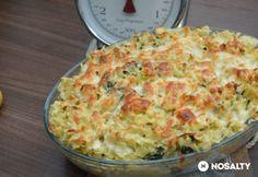 Füstöltsajtos-spenótos tészta Quiche, Feta, Cauliflower, Macaroni And Cheese, Ale, Dinner, Vegetables, Cooking, Breakfast