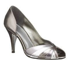 Silver shoes for Krista's wedding - 1.