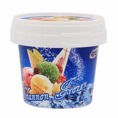 Custom Made Food Packaging Container, 5 oz Disposable Plastic Cup with Lid and Spoon