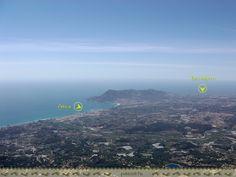 Vistas de Altea y Benidorm desde Bernia #Alicante