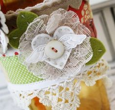 Cute embellishment by Melissa Phillips; PTI August release