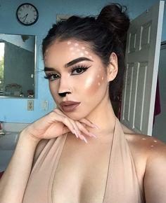 Bambi Makeup Bronzer// MAC msf in 'Dark Deepest' Spots// @jordana_cosmetics…