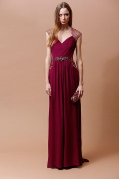 Badgley Mischka Pre-Fall 2014 Collection Slideshow on Style.com
