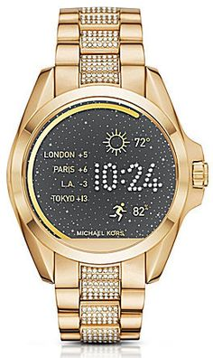 e861e2f6c716 New Michael Kors Micheal Kors  Access  Bradshaw  Processor Stainless Steel  Smart Watch