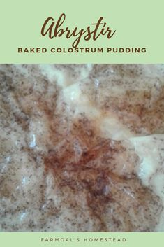 How to make Abrystir a Baked Pudding Cranberry Jam, Pie Plate, Cream And Sugar, Roasting Pan, Served Up, Cravings, Pudding, Dishes, Baking