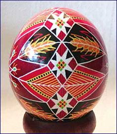 Pysanky Eggs - Red Star Wheat