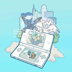 Pokémon Black and White for the Nintendo DS Pokemons Lendarios 3fe74214c305
