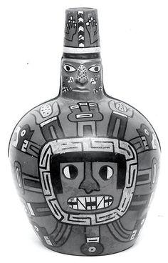 Bottle, Deity Face
