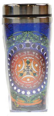 Moon Calendar travel mug Wiccan, Magick, Pagan, Wicca Witchcraft, Moon Circle, Moon Calendar, Under The Moon, Moon Magic, Book Of Shadows