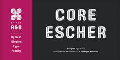 Core Escher font download