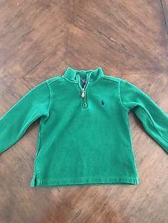 Green Polo by Ralph Lauren sweater.  Size: 5 (boys)  | eBay