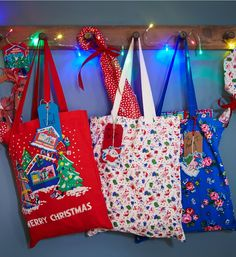 I like the bags, would be great for the Christmas book selection that we keep under the tree. #CKCrackingChristmas