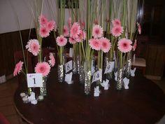 Centros de mesas para toda ocación : Flores, Telas y Globos