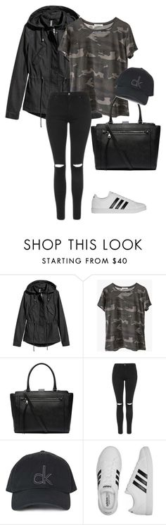 """""""Senza titolo #29"""" by benedettas ❤ liked on Polyvore featuring Ragdoll, Witchery, Topshop and adidas"""