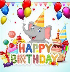 Cute animal with birthday background creative vector 04 - https://gooloc.com/cute-animal-with-birthday-background-creative-vector-04/?utm_source=PN&utm_medium=gooloc77%40gmail.com&utm_campaign=SNAP%2Bfrom%2BGooLoc