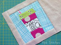 Pink Stitches: Paper Piecing