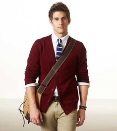 Men rocking the oxblood. It works.
