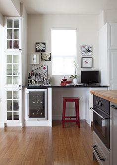 kitchen sideboard idea.. storage/desk etc