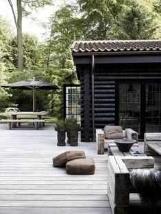 une jolie variante pour comment aménager sa terrasse