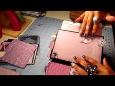 ▶ Kathy Orta Inspired Build-a-Page Mini Album - YouTube