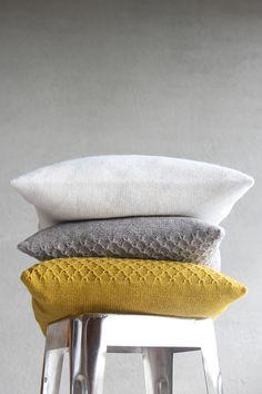 cushions in autumn colours