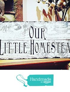 Our little homestead farm house wood sign from MH Home Spun Creations...Where…