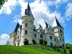 Tiszadob, Andrássy kastély Beautiful Castles, Beautiful Places, Castle In The Sky, Europe, Montpellier, Homeland, Budapest, Dubai, Tourism