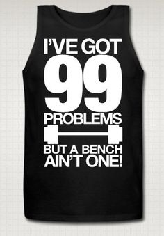 for brad? Mens Workout Tank Top - Free Shipping. $33.00, via Etsy.