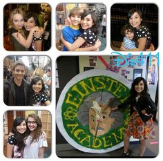 "Photo: Ceci Balagot With ""Girl Meets World"" Stars September 11, 2014"