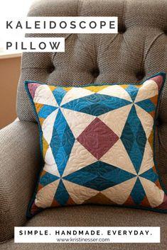 Kaleidoscope pillow from Pillow Talk