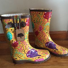 NWTA-Chooka Rain Boots-8 Never worn but tried on for size. NWTA but no box. Bought from another posher but they are too big!  Runs a little big. ❤️ these so much!!!!! Chooka Shoes Winter & Rain Boots